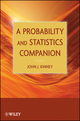 A Probability and Statistics Companion (0470471956) cover image