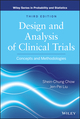 Design and Analysis of Clinical Trials: Concepts and Methodologies, 3rd Edition