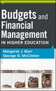 Budgets and Financial Management in Higher Education (0470923156) cover image
