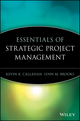 Essentials of Strategic Project Management (0471649856) cover image