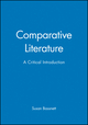 Comparative Literature: A Critical Introduction (0631167056) cover image
