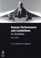 Human Performance and Limitations in Aviation, 3rd Edition (0632059656) cover image