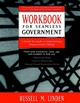 Workbook for Seamless Government: A Hands-on Guide to Implementing Organizational Change (0787940356) cover image