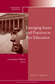 Emerging Issues and Practices in Peer Education: New Directions for Student Services, Number 133 (1118024656) cover image