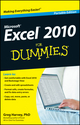 Excel 2010 For Dummies, Portable Edition (1118332156) cover image