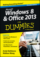 Windows 8 and Office 2013 For Dummies, Portable Edition (1118739256) cover image