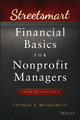 Streetsmart Financial Basics for Nonprofit Managers, 4th Edition (1119061156) cover image