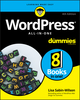 WordPress All-In-One For Dummies, 4th Edition (1119553156) cover image