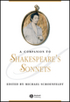 A Companion to Shakespeare's Sonnets (1405121556) cover image