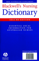 Blackwell's Nursing Dictionary and Australian Supplement (1405139056) cover image