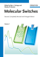 Molecular Switches, 2nd, Completely Revised and Enlarged Edition, 2 Volume Set (3527313656) cover image