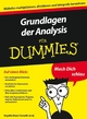 Grundlagen der Analysis fur Dummies (3527658556) cover image