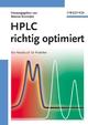 HPLC richtig optimiert: Ein Handbuch für Praktiker (3527660356) cover image