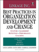 Best Practices in Organization Development and Change: Culture, Leadership, Retention, Performance, Coaching (0470604557) cover image