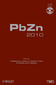Lead Zinc 2010 (0470943157) cover image