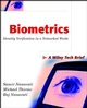 Biometrics: Identity Verification in a Networked World (0471099457) cover image