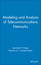 Modeling and Analysis of Telecommunications Networks (0471348457) cover image
