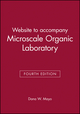 Website to accompany Microscale Organic Laboratory Fourth Edition (0471371157) cover image