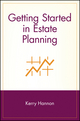 Getting Started in Estate Planning (0471380857) cover image