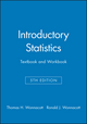 Introductory Statistics 5e Textbook and Workbook (0471527157) cover image
