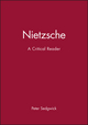 Nietzsche: A Critical Reader (0631190457) cover image