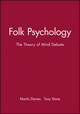 Folk Psychology: The Theory of Mind Debate (0631195157) cover image