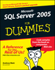 Microsoft SQL Server 2005 For Dummies (0764577557) cover image