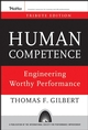 Human Competence: Engineering Worthy Performance, Tribute Edition (0787996157) cover image
