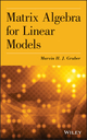 Matrix Algebra for Linear Models (1118592557) cover image