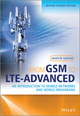 From GSM to LTE-Advanced: An Introduction to Mobile Networks and Mobile Broadband, Revised Second Edition (1118861957) cover image