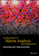 Fundamentals of Matrix Analysis with Applications (1118953657) cover image