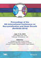 Proceedings of the 6th International Conference on Recrystallization and Grain Growth (ReX&GG 2016) (1119328357) cover image
