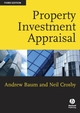 Property Investment Appraisal, 3rd Edition (1405135557) cover image