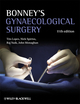 Bonney's Gynaecological Surgery, 11th Edition (1405195657) cover image