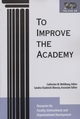 To Improve the Academy: Resources for Faculty, Instructional, and Organizational Development, Volume 22 (1882982657) cover image