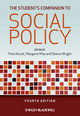 The Student's Companion to Social Policy, 4th Edition (0470655658) cover image