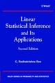 Linear Statistical Inference and its Applications, 2nd Edition (0471218758) cover image