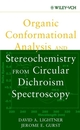 Organic Conformational Analysis and Stereochemistry from Circular Dichroism Spectroscopy (0471354058) cover image