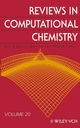 Reviews in Computational Chemistry, Volume 20 (0471445258) cover image