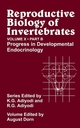 Reproductive Biology of Invertebrates, Volume 10, Part B, Progress in Developmental Endocrinology (0471494658) cover image