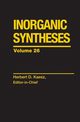 Inorganic Syntheses, Volume 26 (0471504858) cover image