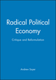 Radical Political Economy: Critique and Reformulation (0631193758) cover image
