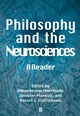Philosophy and the Neurosciences: A Reader (0631210458) cover image
