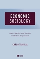 Economic Sociology: State, Market, and Society in Modern Capitalism (0631225358) cover image