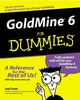 GoldMine 6 For Dummies (0764508458) cover image