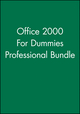 For Dummies Office 2000, Professional Bundle (0764580558) cover image