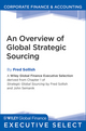 An Overview of Global Strategic Sourcing (1118100158) cover image