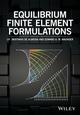 Equilibrium Finite Element Formulations (1118424158) cover image