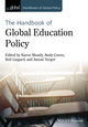 Handbook of Global Education Policy  (1118468058) cover image