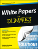 White Papers For Dummies (1118497058) cover image